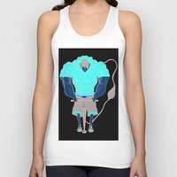 muscle Tank Tops featuring Muscle Pump  by nightfrost4