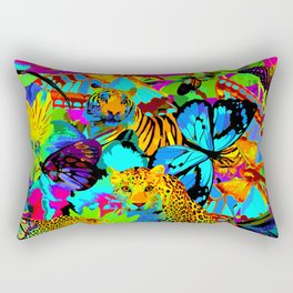 Pop Art Nature Rectangular Pillow