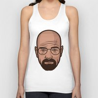 walter white Tank Tops featuring Walter White by Michael Walchalk