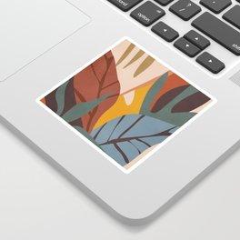 Abstract Art Jungle Sticker
