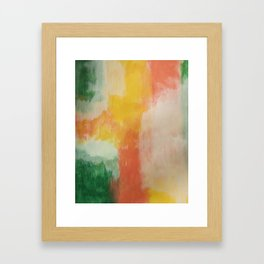 multi color wall art Framed Art Print