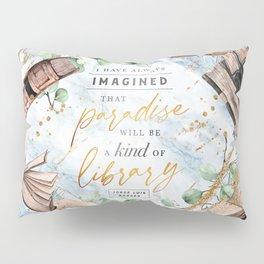 Paradise library Pillow Sham