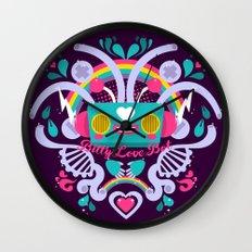 Bitty Love Bot Wall Clock