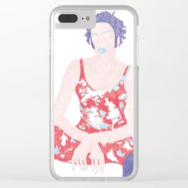 Dressed like a boy Clear iPhone Case