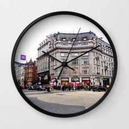 London Street Scene Wall Clock