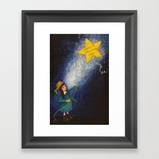 Shining Star Framed Art Print
