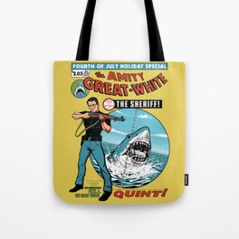 The Amity Great White Tote Bag