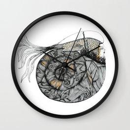 Mujer del Mar . Sea Woman. #1 Wall Clock