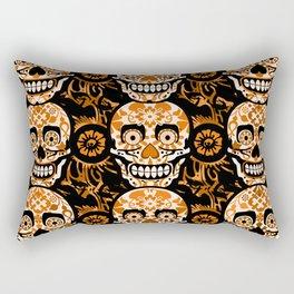 Halloween Calaveras Rectangular Pillow