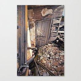 Sinking Doorway Canvas Print