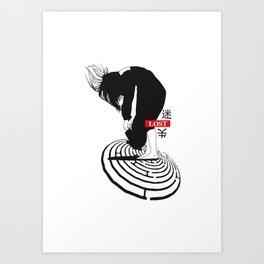 ///LOST/// Art Print
