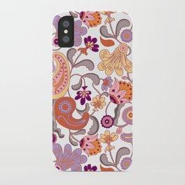Pastel Paisleys iPhone Case
