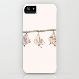 Not much, just hangin iPhone Case