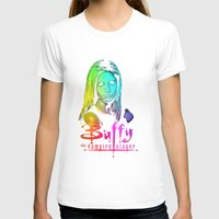 buffy T-shirts featuring Buffy Multicoloured by Paul Elder