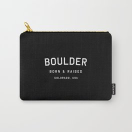 Boulder - CO, USA (Arc) Carry-All Pouch
