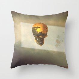 Day 0352 /// Goldstand///redux Throw Pillow