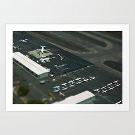 Airport in Hawaii Art Print