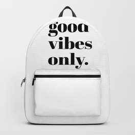 good vibes only II Backpack