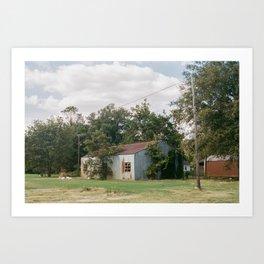 Abandoned Barn Clarksdale Mississippi Art Print
