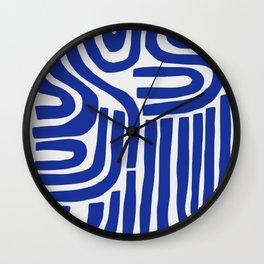 S and U Wall Clock