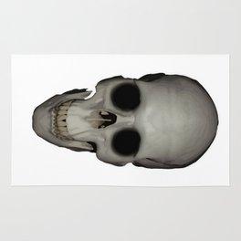 Human Skull Vector Isolated Rug