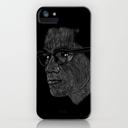 Malcom X iPhone Case