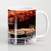 silent hill Mugs featuring Death By Medicine Silent Hill Nurses by Joe Misrasi