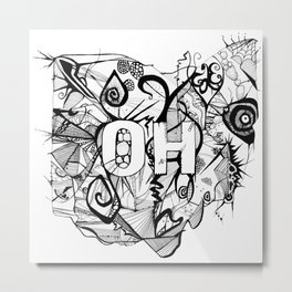 Ohio. Metal Print