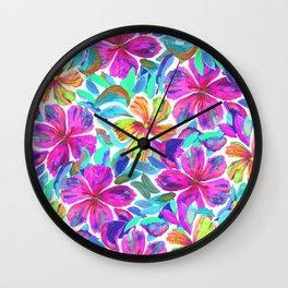 KALIA - PINK Wall Clock