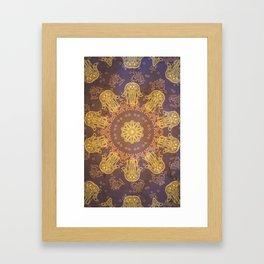 Khamsah Framed Art Print