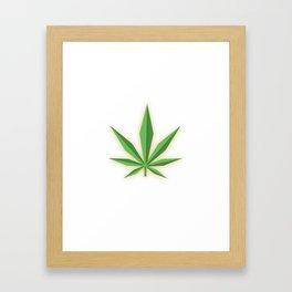 Golden Tree Framed Art Print