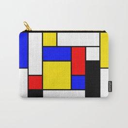 Mondrian Geometric Art 2 Carry-All Pouch
