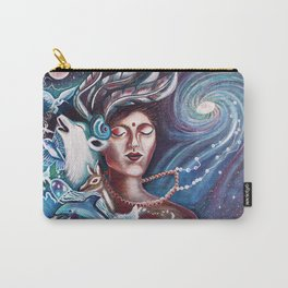 Nature Loves Courage Carry-All Pouch