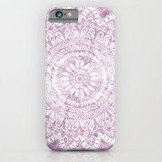 BOHEMIAN FLOWER MANDALA IN PINK iPhone 6 Slim Case