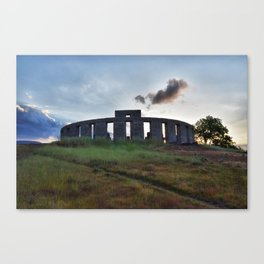 Stonehenge WWI Memorial Canvas Print