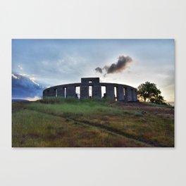 Stonehenge WWI Memorial Canvas Print