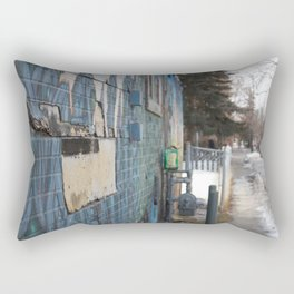 Beltline wall Rectangular Pillow