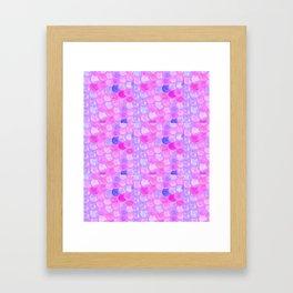 Spunky Dots Framed Art Print