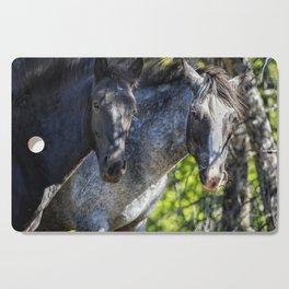 Mica and Malpais - Pryor Mustangs Cutting Board