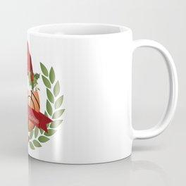 Christmas Basketball Coffee Mug