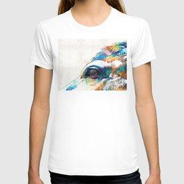 Colorful Horse Art - A Gentle Sol - Sharon Cummings T-shirt