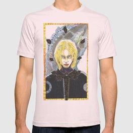 Woman in Black T-shirt