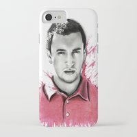 tyler spangler iPhone & iPod Cases featuring Tyler Joseph by Alycia Plank