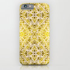 Random rope on gold foil iPhone 6s Slim Case