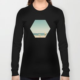 Water and Lace Long Sleeve T-shirt