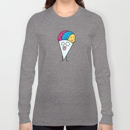 Silly Snow Cone Long Sleeve T-shirt