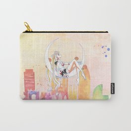 Can not Fight The Moonlight Watercolor Version Carry-All Pouch