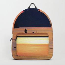 Fishing Scene Backpack