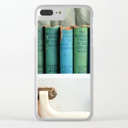 Bobbsey Twins Clear iPhone Case