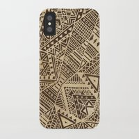 tribal iPhone & iPod Cases featuring Tribal  by Terry Fan